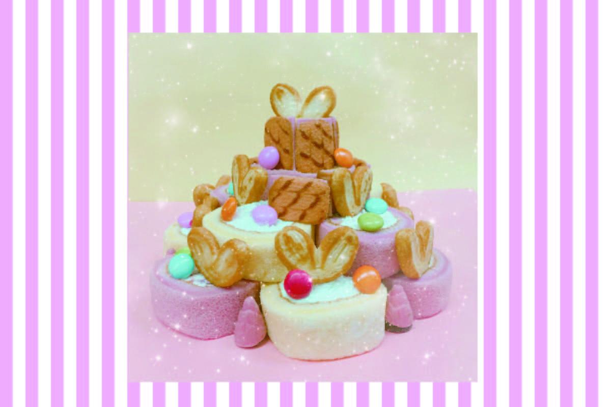 簡単2STEP♡ コンビニお菓子でクリスマススイーツ作り