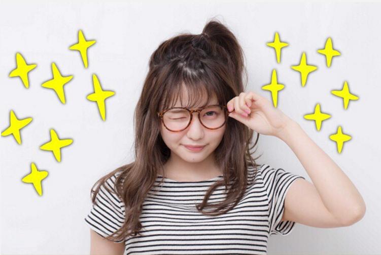 小物と合わせて盛れちゃうヘアアレンジ♡ PART4:メガネ編